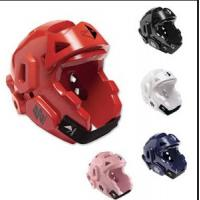 Buy cheap Karate Taekwondo MMA PPE Safety Gear , Protective Sports Helmet PU Coating from wholesalers
