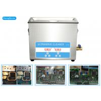 Buy cheap High Frequency Ultrasonic Cleaner Electronics For Soldering PCB Board 6.5L 150 Watt from wholesalers
