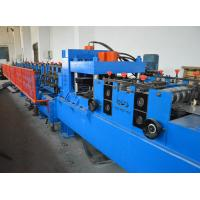 Buy cheap 380V C Shape Purlin Roll Forming Machine With Automatic Punching Holes from wholesalers