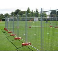 Buy cheap Orange Customized Temporary Fence Panels For Environmental Protection Areas from wholesalers