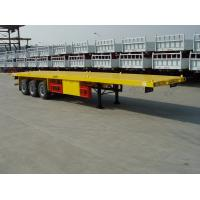 Buy cheap Flat Bed ,Rail Plateform Semi-Trailer-9353TJZP from wholesalers