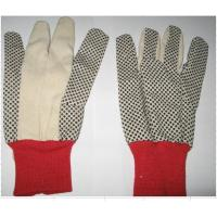 Buy cheap 6 OZ t/c canvas pvc dots glove twill glove cheap glove from wholesalers