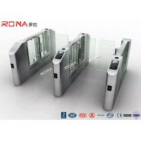 Buy cheap Electronic Turnstile RFID Pedestrian Barrier Gate , Turnstile Security Systems product
