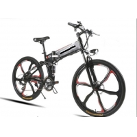 Buy cheap 50km/H 350w Folding Electric Bike 26 Inch Wheels from wholesalers