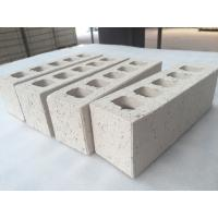 Buy cheap Customized White Clay Hollow Blocks For Wall Building Construction 230 X 76 x 70 mm from wholesalers