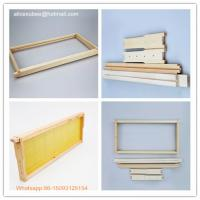 Buy cheap Beekeeping wooden bee hive frames/chinese bee frame/beehive frame from wholesalers