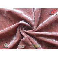 Buy cheap Warm Stock Lot Spandex Velvet Fabric 4 Way Stretch Modern Style Eco Friendly from wholesalers