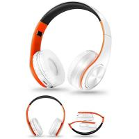Buy cheap Foldable Noise Cancelling Headphones Sweat Resistant HIFI FM Radio TF Card Support from wholesalers