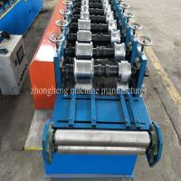 Buy cheap 2.5 Tons 5.5Kw Metal Stud And Track Roll Forming Machine With 10 Roller Stations from wholesalers