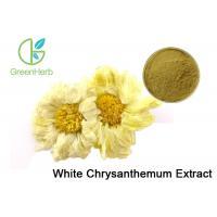 UV / HPLC Test Plant Extract Powder Yellow Chrysanthemum Flower Extract