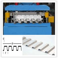 Buy cheap 30KW Floor Deck Roll Forming Machine for Large Steel Structure Building Manufacturer Total 28 Stations from wholesalers