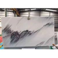 Buy cheap Half  Style Blue Sky Marble Stone Slabs For Wall Background Beautiful Surface Appearance product