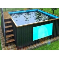 Buy cheap Topshaw China Manufacturer Making Above Ground Container Pool Swimming Pool Outdoor from wholesalers