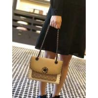Buy cheap discount  Coach style rivet parker, tea-colored antique logo and two snake skin, low-key feminine taste, suitable for al from wholesalers