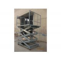 Buy cheap Loading / Unloading Goods Hydraulic Lift Ladder 2000 × 1500mm Platform Multi Forks from wholesalers