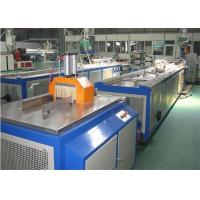 China Door And Windows PVC Profile Extrusion Line , Plastic Profile Extrusion Machines on sale