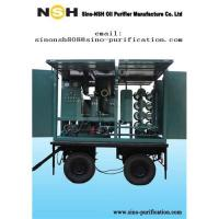 Buy cheap Oil purifier, oil recycling, Sino-NSH portable transformer oil reprocessing equipment from wholesalers