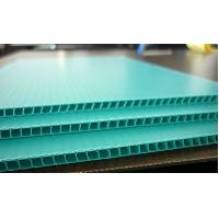 Buy cheap Polypropylene / Polyethylene Corflute Board Correx Plastic Sheets For Greenhouse from wholesalers
