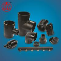 Buy cheap Plastic  HDPE Pipe Fitting 90 Degree Butt Fusion Elbow For Drainage /Water from wholesalers