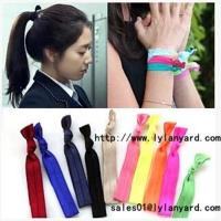 Buy cheap Hair Tie Fashion Fold Over Elastic Hair Band from wholesalers
