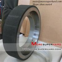 Buy cheap Ceramic  bond CBN grinding wheel for crankshaft and camshaft from wholesalers