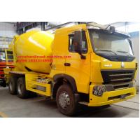Buy cheap EuroII New 10tires SINOTRUK INTERNATIONAL HOWO A7 Concrete Mixer Truck 10CBM 371HP 6X4 LHD from wholesalers