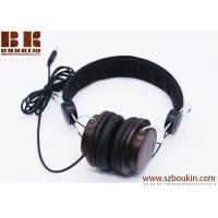 Buy cheap High-end retro fashion custom oem wooden headphone with Good stereo sound from Headphone Factory in China from wholesalers