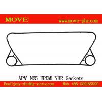 Buy cheap Heat Exchanger Plate&Gasket replacement APV N25,N35,j092,j107,k34 NBR/EPDM plate heat exchanger gaskets from wholesalers