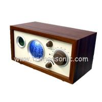 Buy cheap Wood Frame Clock Radio with LED Backlight from wholesalers