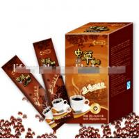 Buy cheap Instant coffee with cordyceps Sinensis Mycelium extracts energy new premium slimming coffee ground from wholesalers