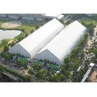 Buy cheap Giant Curved Clear Sports Tent Football Field Playground TFS 120km / H Wind Resistance from wholesalers