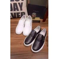Buy cheap 2016 New Fashionable Replica High Quality PHILIPP PLEIN Summer casual shoes leather design internal pigskin black white from wholesalers
