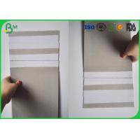 Buy cheap 230gsm / 250gsm Grey Back Duplex Board Single Side Coated 70*100cm from wholesalers