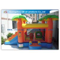 Buy cheap Kids Bounce House Inflatable Patrol Jumping Castle With Slide Combo For Party product