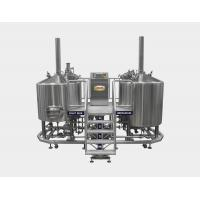 Buy cheap 7 BBL Micro Brewing Equipment , Mash Lauter Tun + Kettle Whirlpool Tun , 220V / 380V product