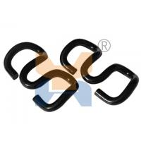 Buy cheap Good quality of Carbon Steel Rail Elastic Clip on fixing sleeper pandrol clip from wholesalers