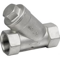 """Buy cheap SCREWED END STAINLESS STEEL Y Type Strainer CF8 / CF8M 1/2"""" - 4"""" API 598 from wholesalers"""