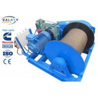 Buy cheap Electronic Control Power Line Stringing Equipment Slow Speed Winch Lifting Road Bridge Installation product