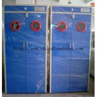 Two Gas Cylinder Cabinet With  Automatic Alarm System For Storage Gas Cabinet