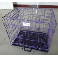 Buy cheap Black Cheap Poultry farming equipment metal large steel iron dog cage(Whatsapp +86 13331359638) from wholesalers