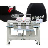Buy cheap twin heads cap computerized embroidery machine from wholesalers