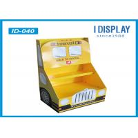 Buy cheap Supermarket Cardboard School Bus Display Stands For Market Promotions from wholesalers