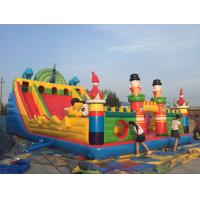 Buy cheap PVC Material Children Inflatable Playground Slide Castle Type Bouncy Castle Games from wholesalers