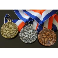 Buy cheap Round Custom Design UIL Metal Award Medals Blank Medallion With 3D Effect from wholesalers