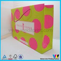 Buy cheap Lovely Custom Paper Gift Bags, Paper Shopping Bags, wedding gift bags from wholesalers