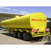 Buy cheap Insulated Tank Semi Trailer from wholesalers
