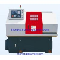 Buy cheap new 380mm double linear guide cnc lathe with flat bed from wholesalers