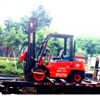 Buy cheap OEM Diesel Forklift Truck With Triplex Full Free Mast 5m Side Shift Container from wholesalers
