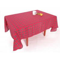Hand Wash Checkered Table Cloth Easy Cleaning With Classical Lattice Design