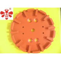 Buy cheap Silver Brazed Diamond Cutting Blade , Grinding Head  Diamond Cup Wheel  Floor Grinding Plate from wholesalers